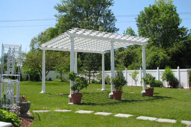 Landscaping With Your Pergola