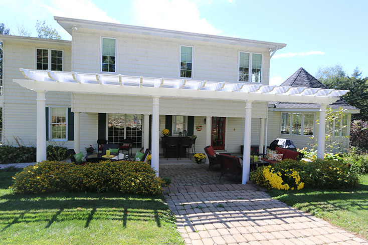 does a pergola add value to your home
