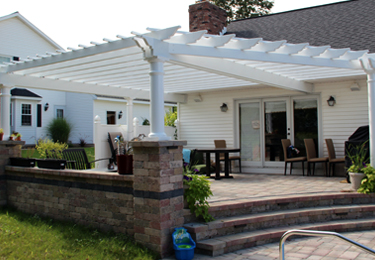Custom pergolas for patios