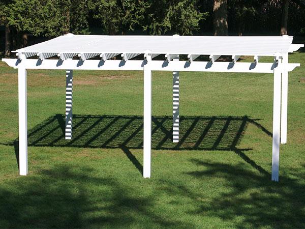 1:12th Scale Medium Pergola Garden