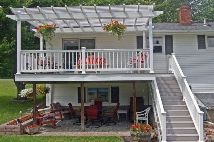 12X16 pergola for small or medium sized deck