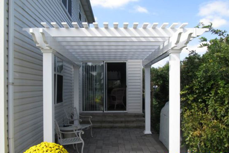 9X12 pergola for small patio