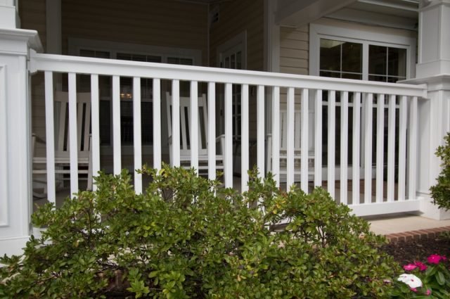 "Conrad Vinyl ""A"" Baluster Stair Sections"