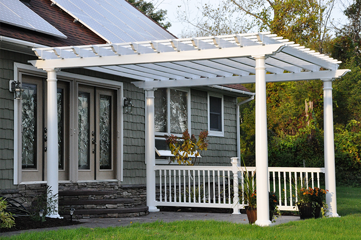 buying a pergola from an Amish craftsman
