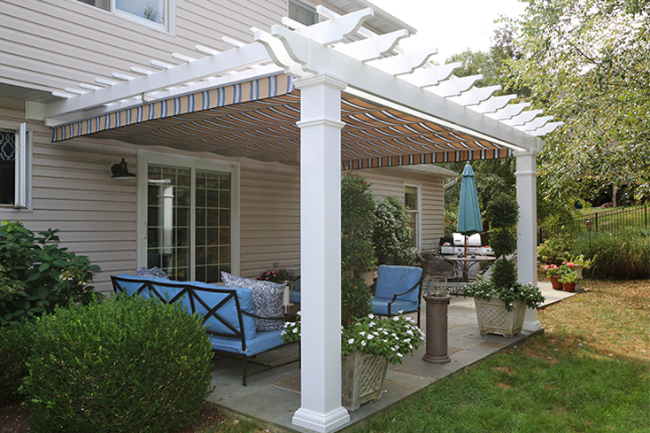 pergolas with canopies
