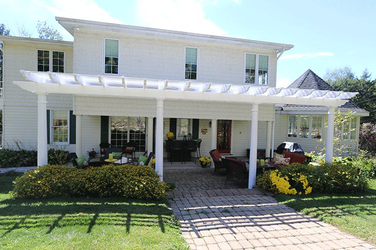 pergola benefits for home value