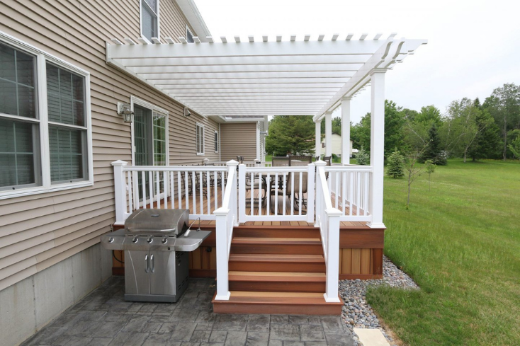 deck pergola ideas