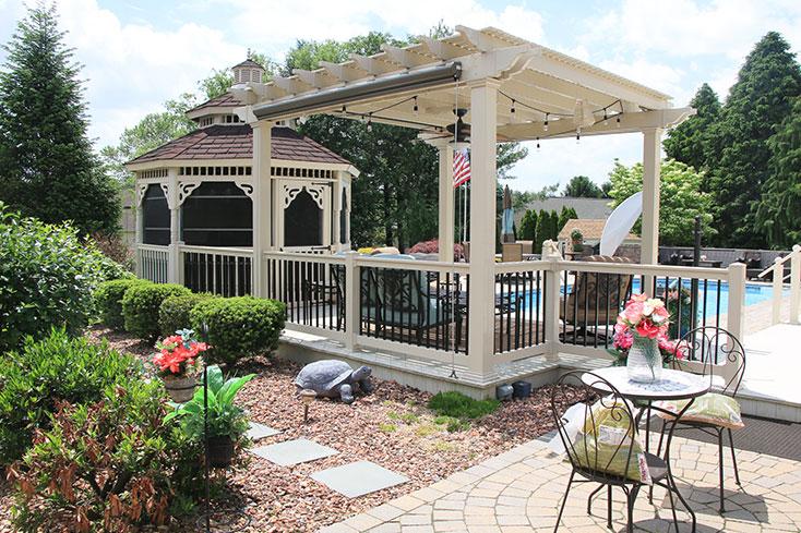 luxury outdoor space idea